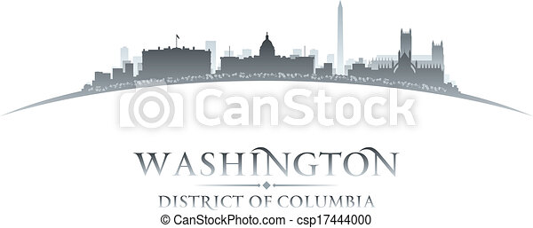 Washington dc City Logo Washington dc City Skyline