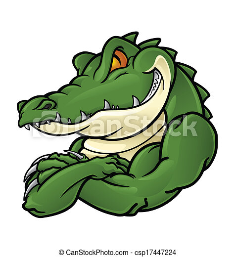 Crocodile Clipart and Stock Illustrations. 7,821 Crocodile vector ...