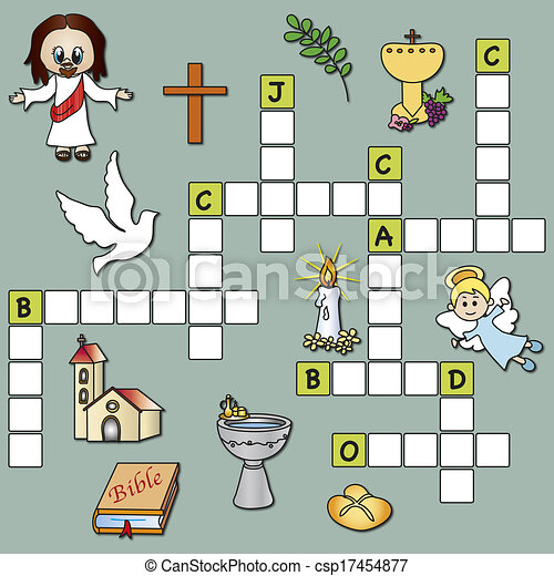 crossword religion - csp17454877