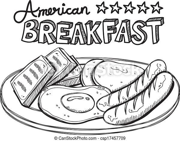 American Breakfast 17457709