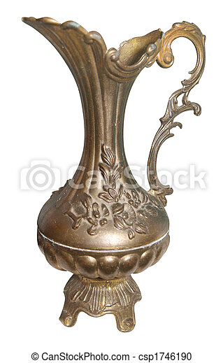 Antique Bronze Jug - csp1746190