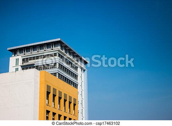 architecture moderne - csp17463102
