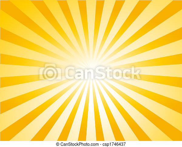background with Sunburst - csp1746437