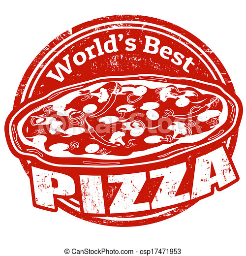 Pizza vintage sign on white background, vector... csp17471953 - Search ...