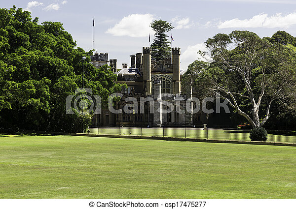 Government or Governors House Sydney - csp17475277