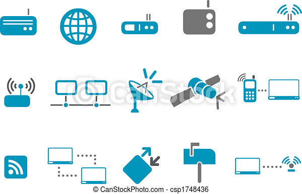 Communication Icon Set - csp1748436