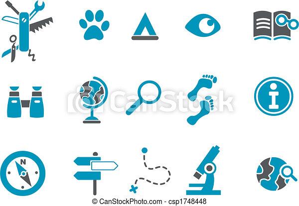 Exploration Icon - csp1748448
