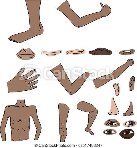 Clip Art Body P