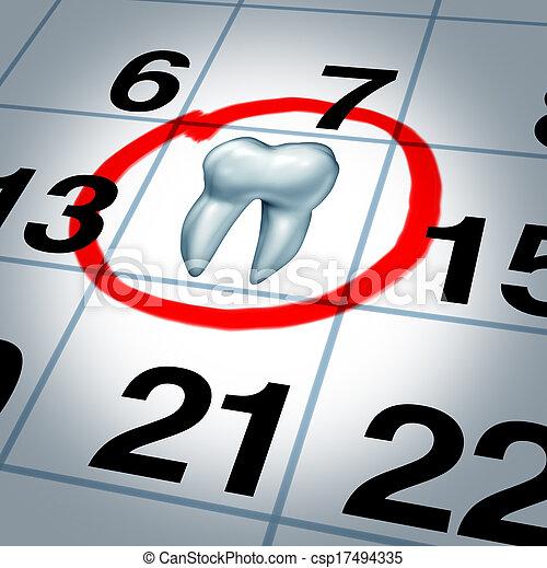 appuntamento dentista - csp17494335