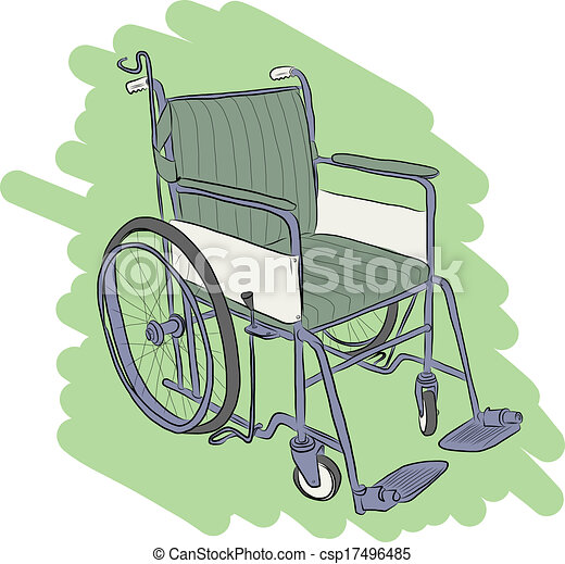Wheelchair - csp17496485