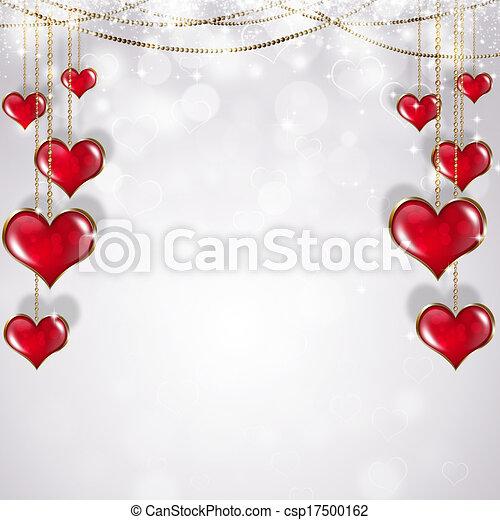 Valentine Holiday Greeting Card - csp17500162