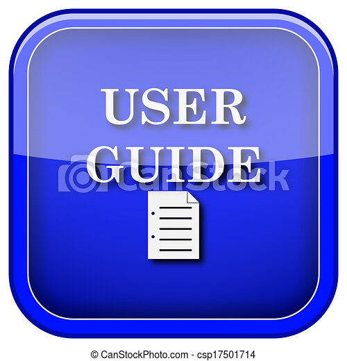 User guide clipart