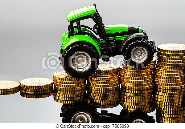 steigend, Kosten, landwirtschaft - csp17505090
