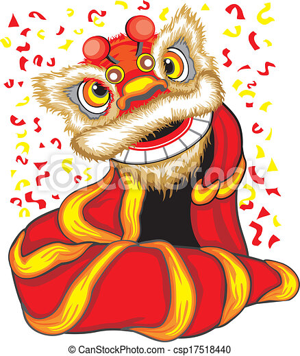 Lion Dance Logo Design