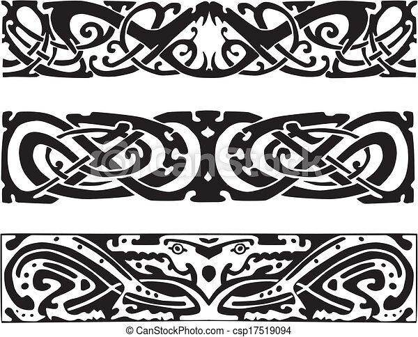 Vecteurs Eps De Celtique Conceptions Serpents Noeud
