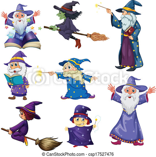 Wizards Illustrations and Clipart. 9,241 Wizards royalty free ...