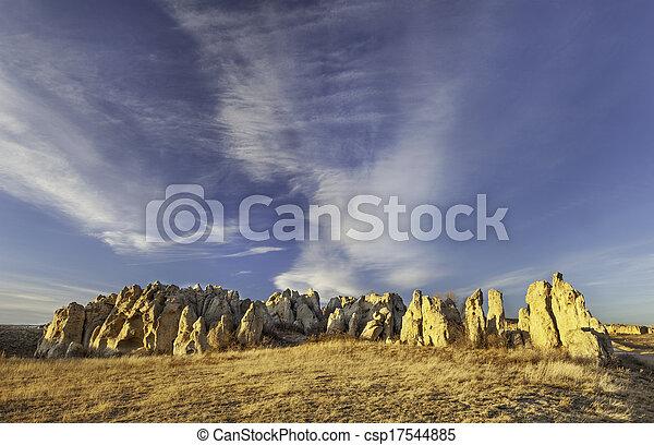 Natural Fort goelogical landmark - csp17544885