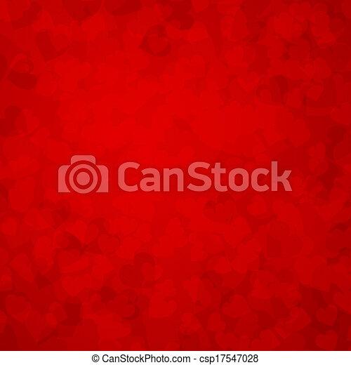 Valentine's day background - csp17547028