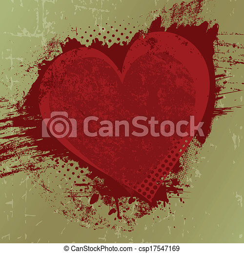 Valentine's day background with copy space - csp17547169