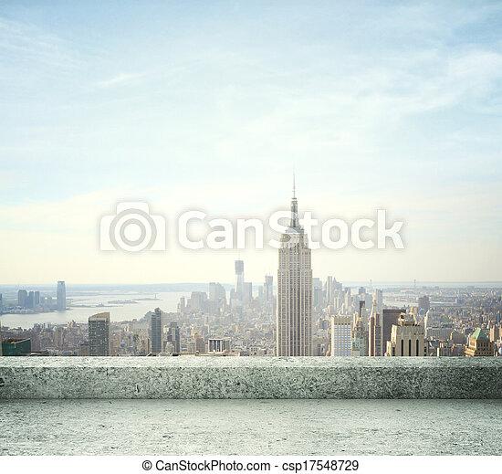 cidade, vista - csp17548729
