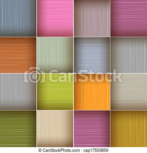 Vector Square Colorful Wooden Abstract Background - csp17553859