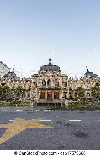 Government Palace in Tucuman, Argentina. - csp17573668