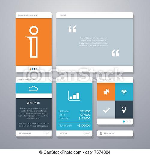 Fresh UI Table Designs, Elements