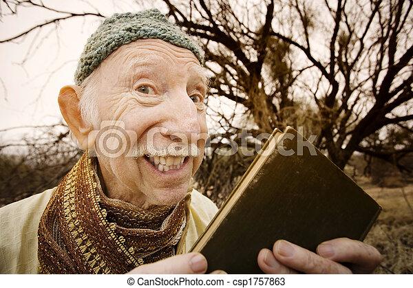 Guru in the desert - csp1757863