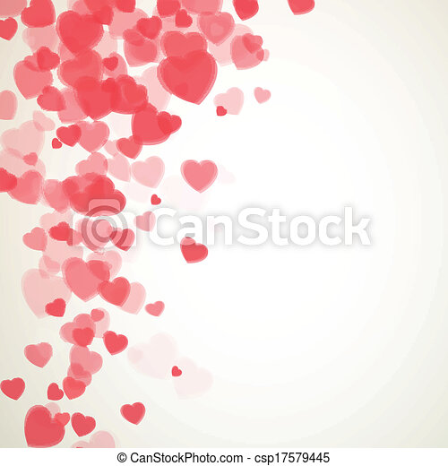 Vector Valentines Day Card - csp17579445