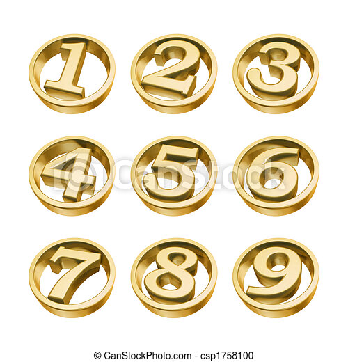 golden numbers of phone - csp1758100
