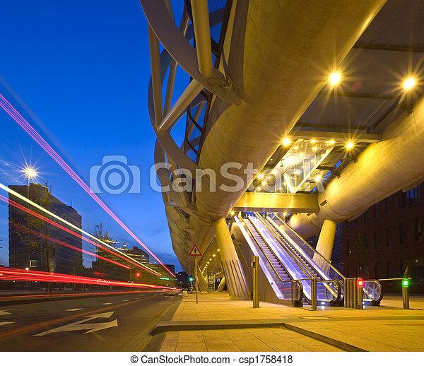 transporte, público - csp1758418