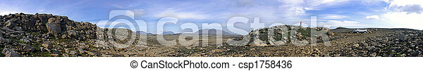 Barren Kjolur Landscape - csp1758436