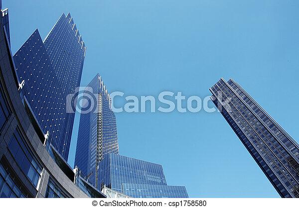 Urban Architecture - csp1758580