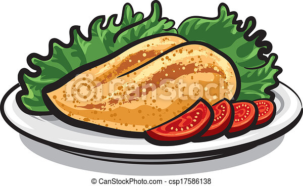 Chicken Meat Drawing Vector Chicken Breast
