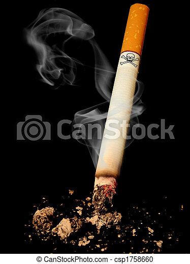 Cigarette danger - csp1758660