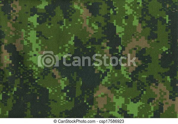 Digital military camo texture - csp17586923