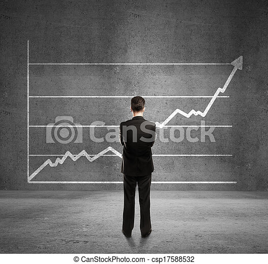 man and growth chart - csp17588532