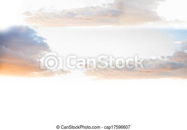 Heavenly sky - csp17596607