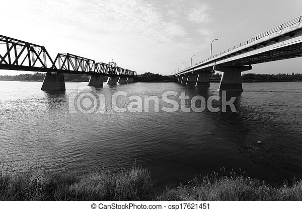 Bridges in Prince Albert - csp17621451
