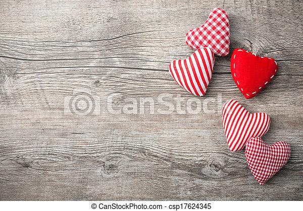 valentines, Dia, fundo - csp17624345