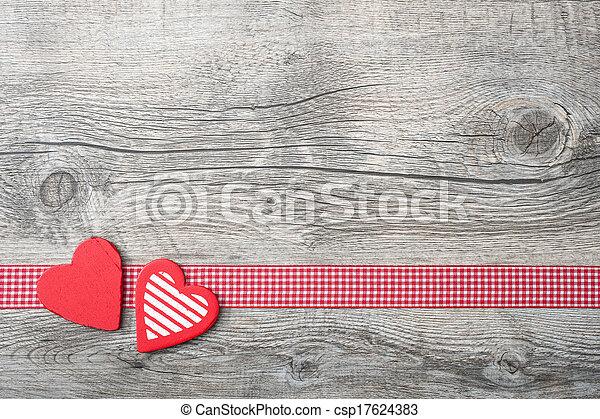 valentines, Dia, fundo - csp17624383