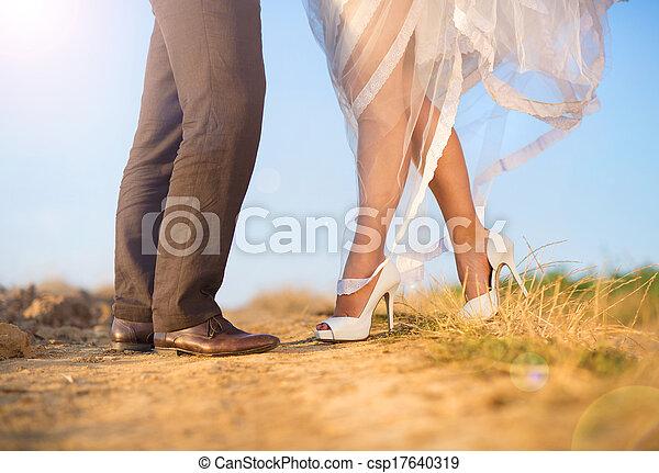 Wedding details in nature - csp17640319