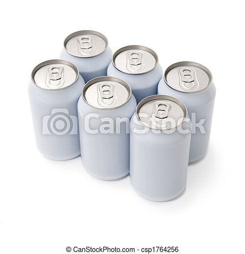 sixpack beverage cans - csp1764256