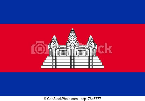Cambodia Flag - csp17646777
