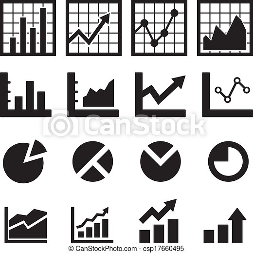 Chart and Diagram Icon - csp17660495