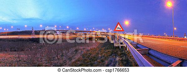 Highway junction - csp1766653