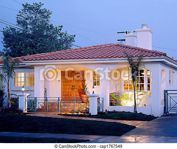 residential exterior - csp1767549
