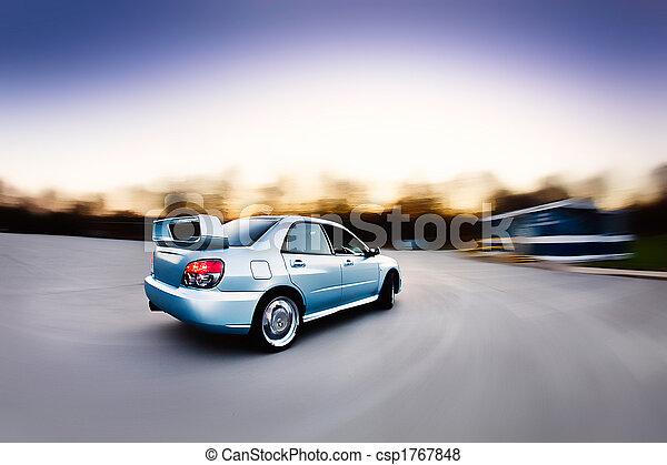 Race Rally Car - csp1767848