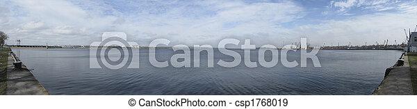 Dnipro-Slavutuch River - csp1768019