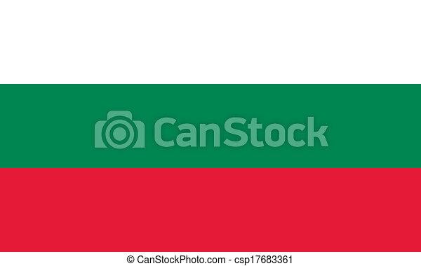 Bulgaria flag - csp17683361